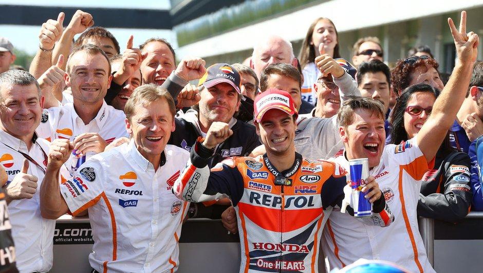 MotoGP - Brno 2014 : Pedrosa aux anges, Marquez pas à l'aise