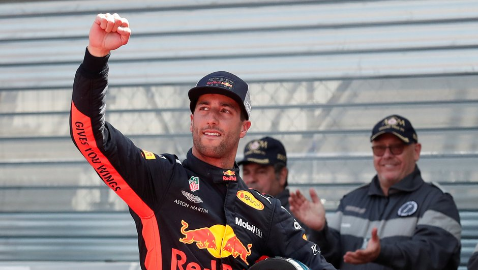 F1/GP de Monaco : la pole pour Ricciardo, Ocon 6e