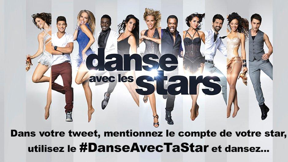 """Danse avec les Stars 5 : Entrez dans la danse sur Twitter grâce à """"Danse Avec Ta Star"""""""