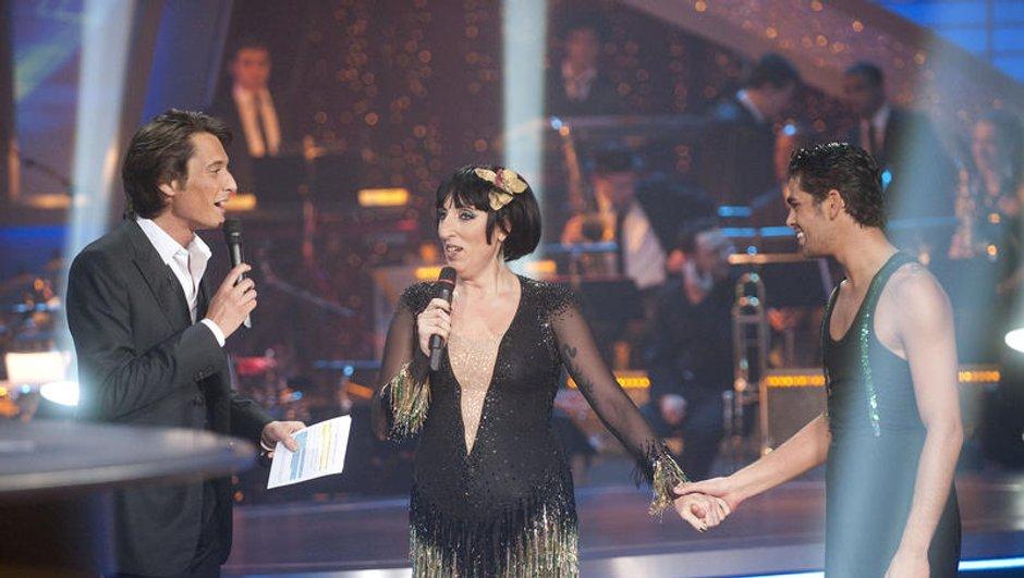 Rossy de Palma et Christophe, les notes du jury - Danse avec les stars