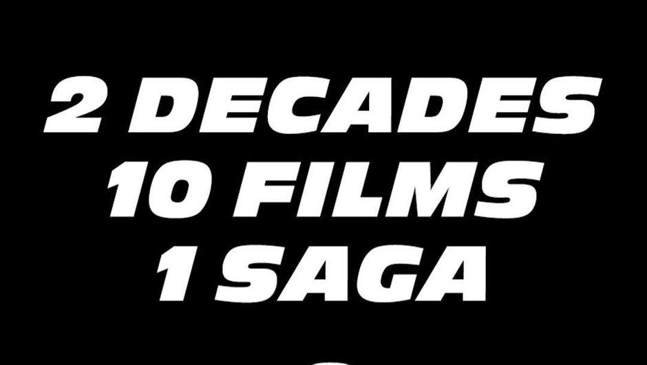 Vin Diesel annonce les dates des films Fast & Furious 9 et 10