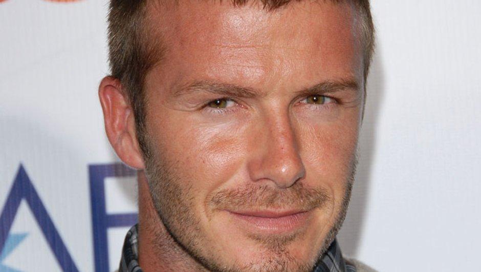 David Beckham : premier homme à poser seul en une de Elle