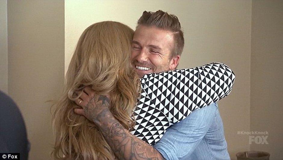 Insolite : David Beckham offre 100 000 dollars à une famille