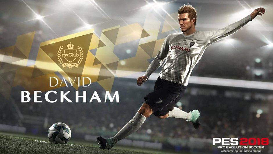 Insolite : David Beckham devient ambassadeur du jeu vidéo PES