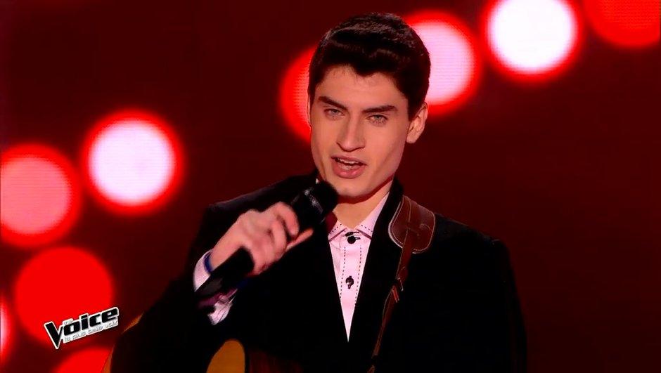 """The Voice 4 - Finale : David Thibault, retour sur le parcours  du """"King"""""""