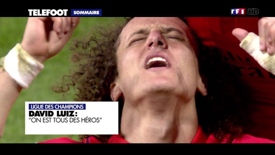 """PSG - David Luiz : """"On est tous des héros"""""""