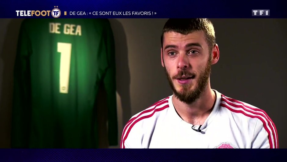 """[EXCLU Téléfoot 10/02] - De Gea avant Man United-PSG : """"Ce sont eux les favoris"""""""