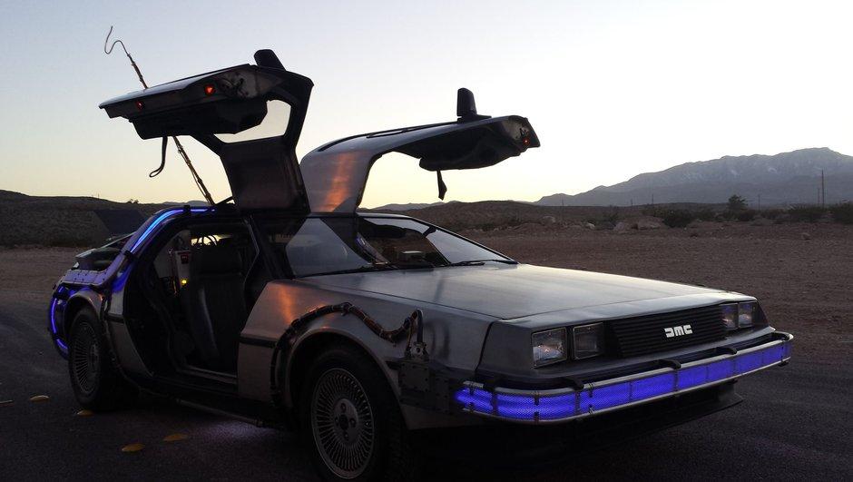 Collection : une replique de la DeLorean de Retour vers le Futur en vente sur eBay !
