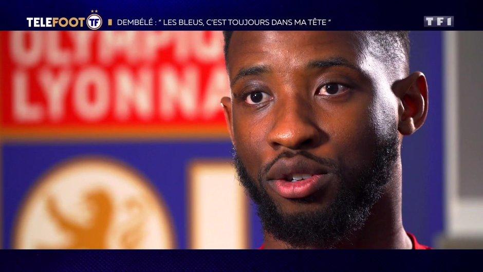 """[EXCLU Téléfoot 3/02] - Dembélé et les rumeurs concernant l'OM : """"Le club n'est pas trop stable"""""""