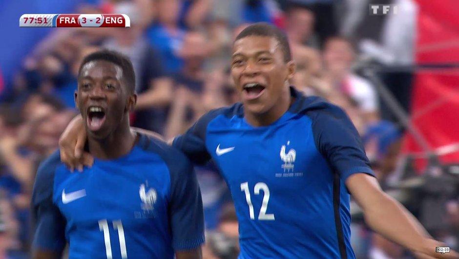 France-Angleterre : derrière le but de Dembélé, l'avenir très prometteur des Bleus