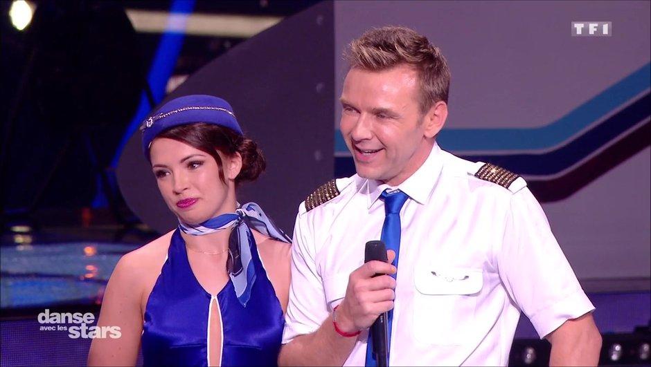 Jeanfi Janssens et Marie Denigot, leur première performance sur un Quickstep !
