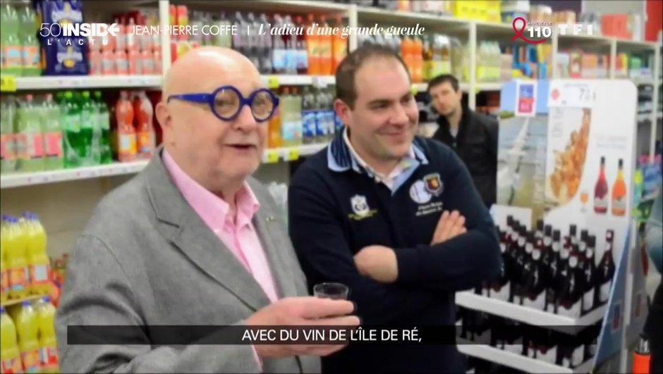 Le tout dernier déplacement de Jean-Pierre Coffe