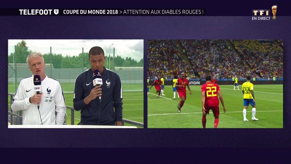 """[Exclu Téléfoot 08/07] - Deschamps : """"La Belgique mérite sa place en demi-finale"""""""