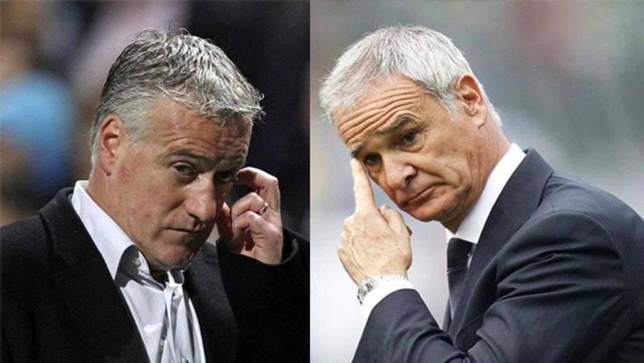 OM - Inter Milan : Deschamps vs. Ranieri