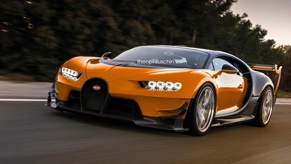 Design: il imagine la future Bugatti Chiron Super Sport