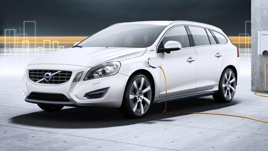 La Volvo V60 Hybride Rechargeable bientôt commercialisée