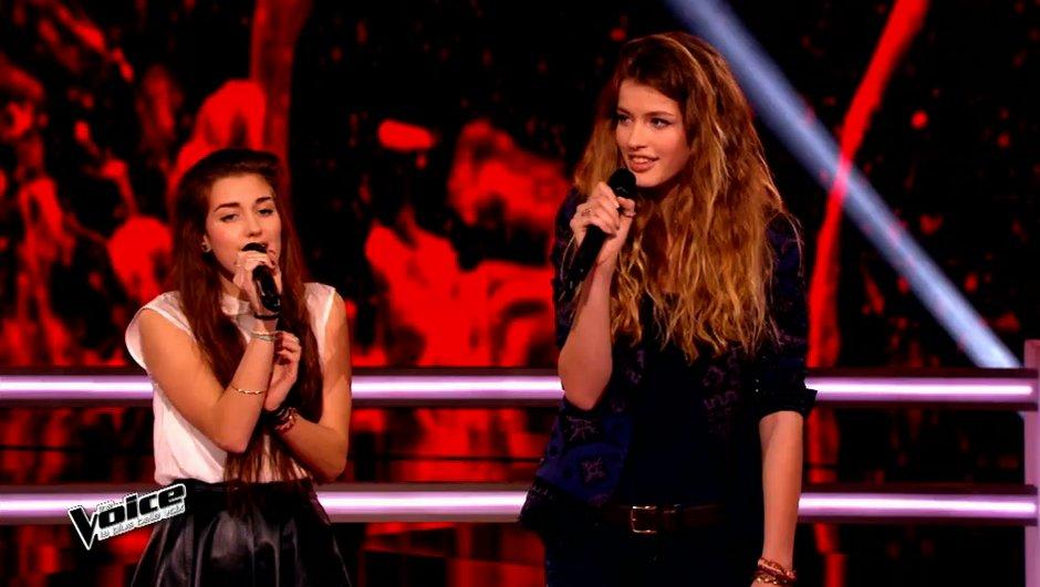 The Voice 4 - Les battles : Manon Palmer plus forte que sa copine Devi