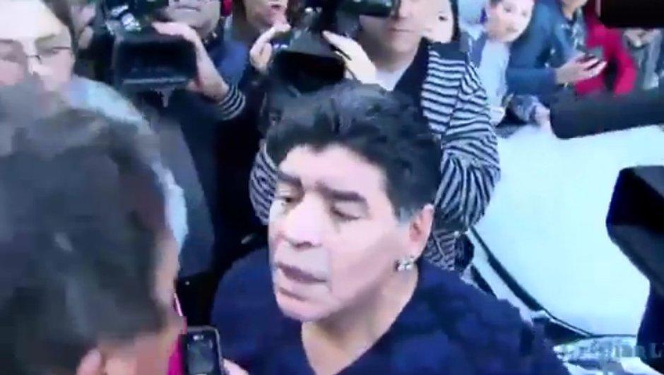 Vidéo insolite : Le nouveau coup de sang de Diego Maradona