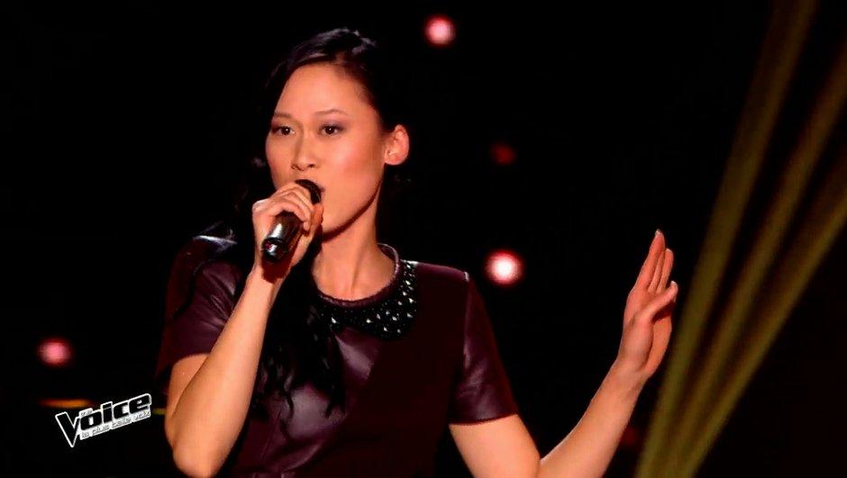 The Voice 4 : Le flow de Diem fait des merveilles sur Jenifer (VIDEO)