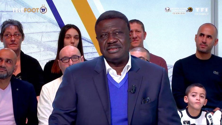 """[EXCLU Téléfoot 3/02] - Pape Diouf : """"Content d'être parti de l'OM sans laisser derrière moi une coquille vide"""""""