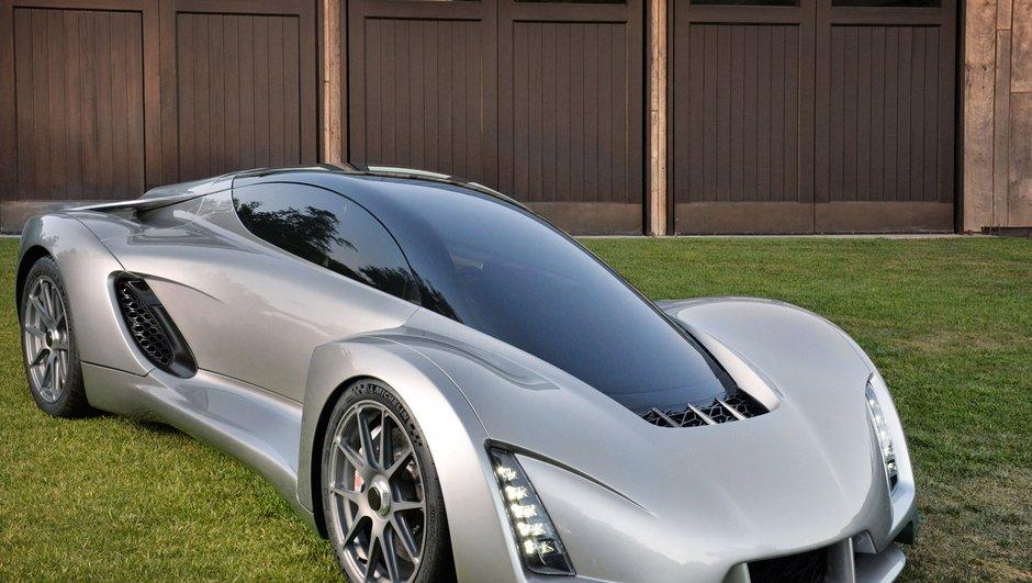 Blade : Un supercar imprimé en 3D