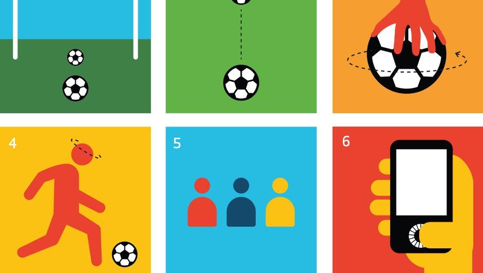 Insolite : le phénomène Dizzy Goal Challenge
