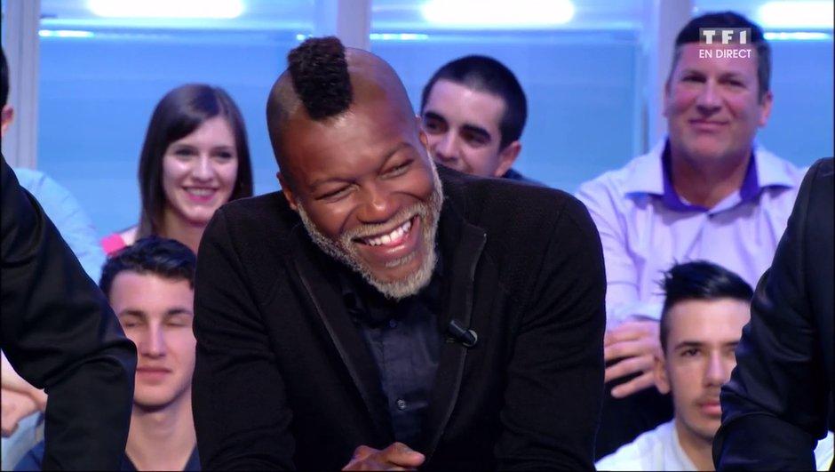 Insolite : Djibril Cissé reconnaît un joueur dans le public de Vendredi tout est permis !