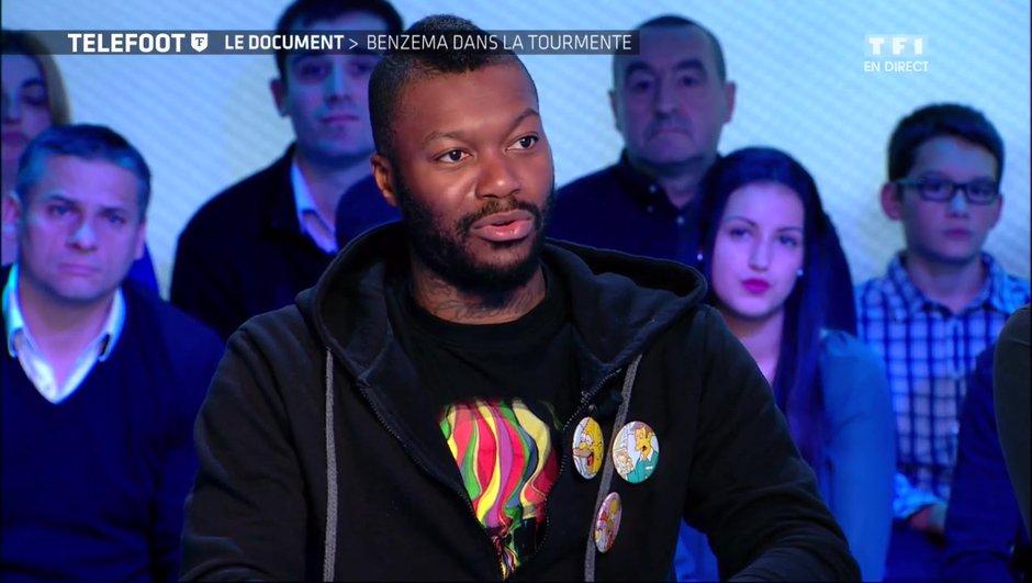 Djibril Cissé en colère après Jérôme Rothen