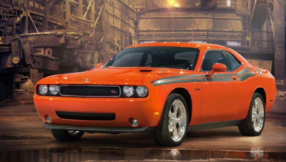 Dodge Challenger R/T Classic : Rétromobile