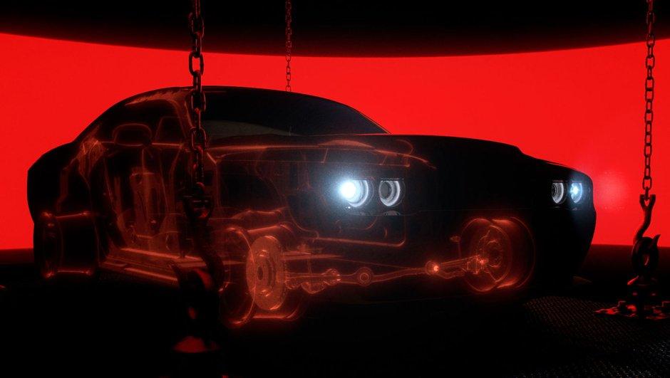 Teaser : la Dodge Challenger SRT Demon s'allège pour de meilleures performances