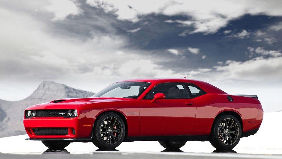 Dodge Challenger Hellcat 2015 : un muscle-car de 707 chevaux !!!