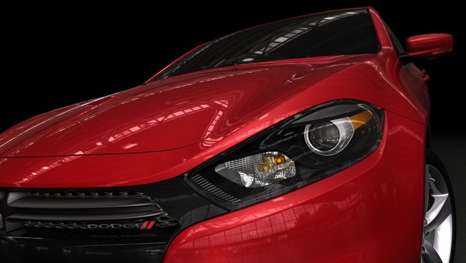 Salon de Détroit 2012 : la Dodge Dart se préfigure en images