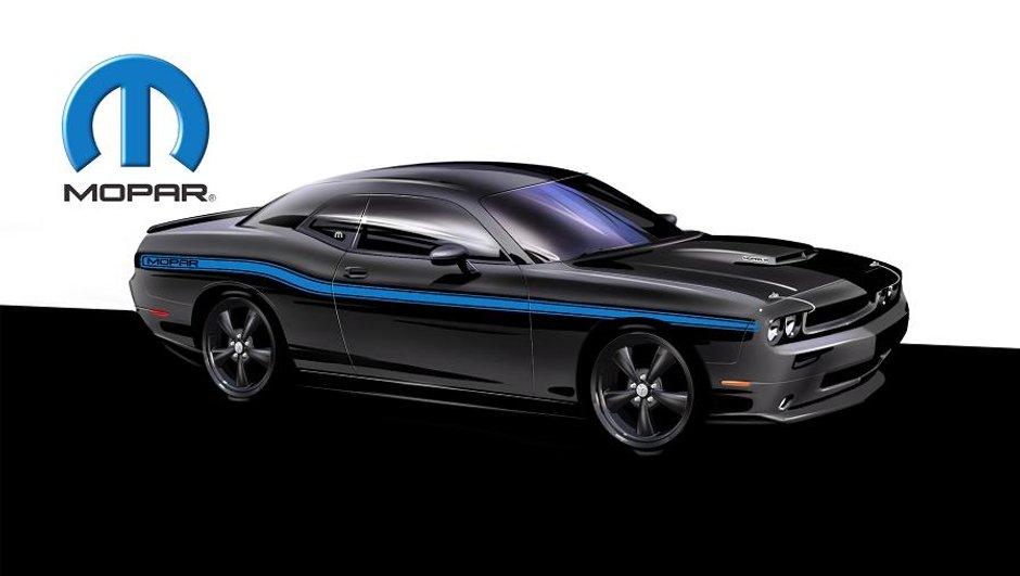Dodge Challenger Mopar 2010 : la muscle-car dynamitée maison