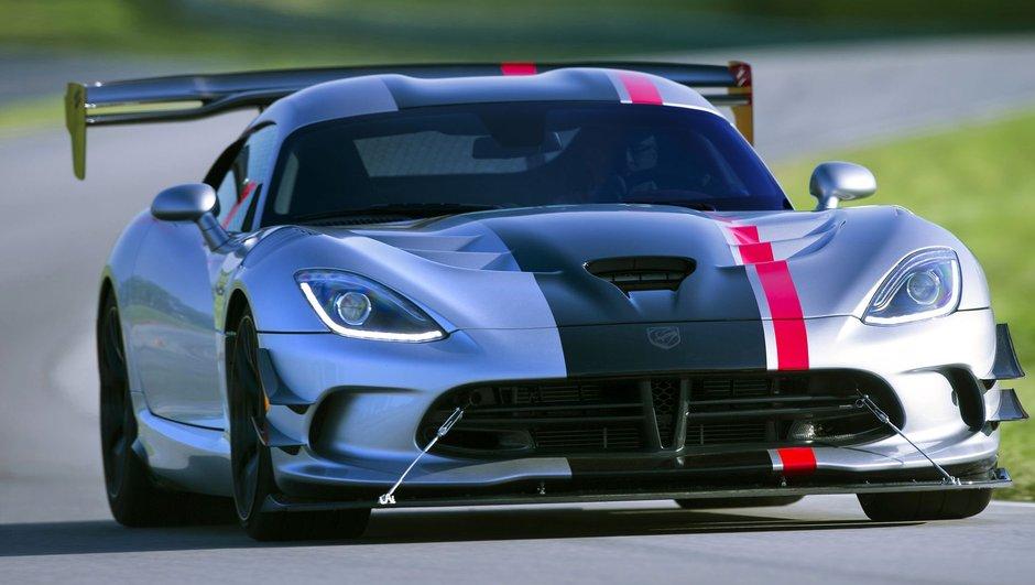 Dodge Viper ACR 2016 : la supercar américaine appuie très fort