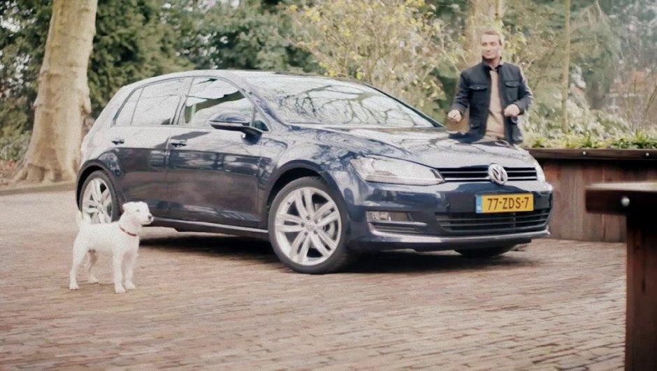 Volkswagen Golf : la pub insolite néerlandaise qui a du chien