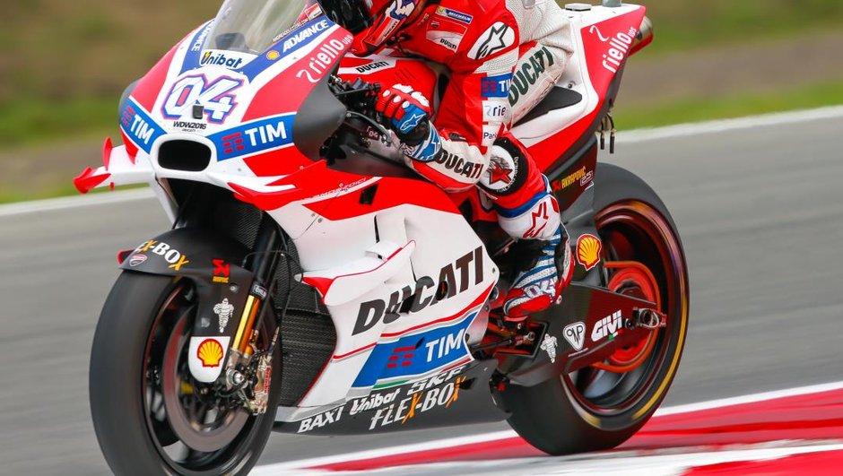 Moto GP - Assen 2016 : Dovizioso meilleur temps, Pedrosa en repêchage