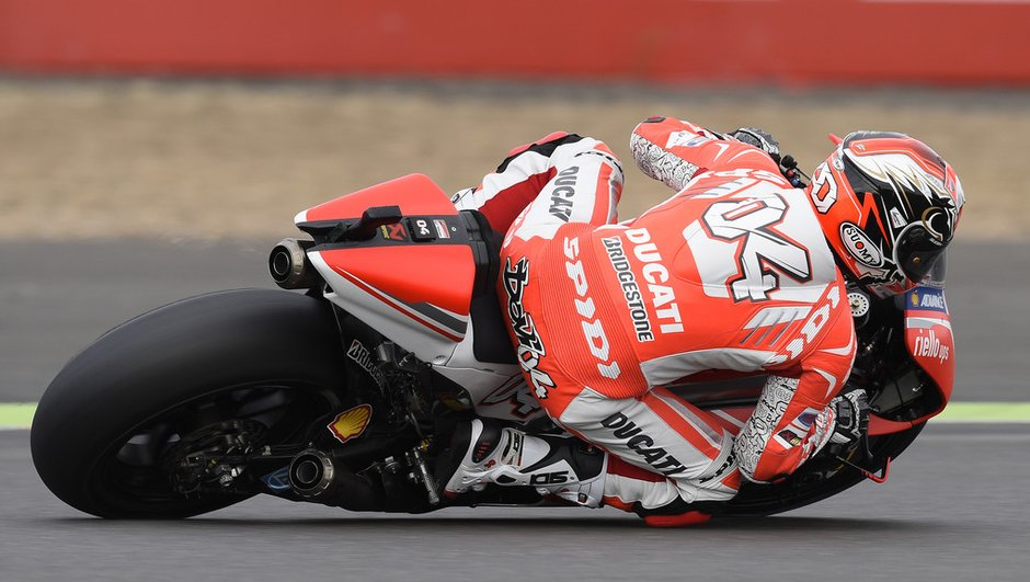 MotoGP - Essais 2 Misano 2014 : Dovizioso s'illustre aussi sous la pluie