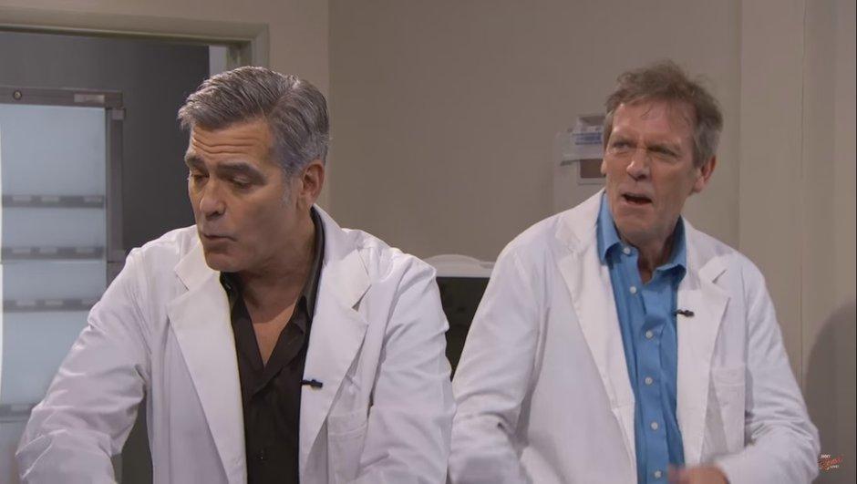 Le Dr House de retour… avec George Clooney !