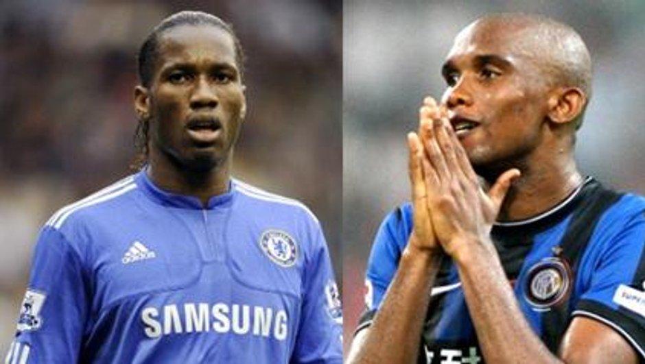Jose Mourinho, fan de Samuel Eto'o et Didier Drogba