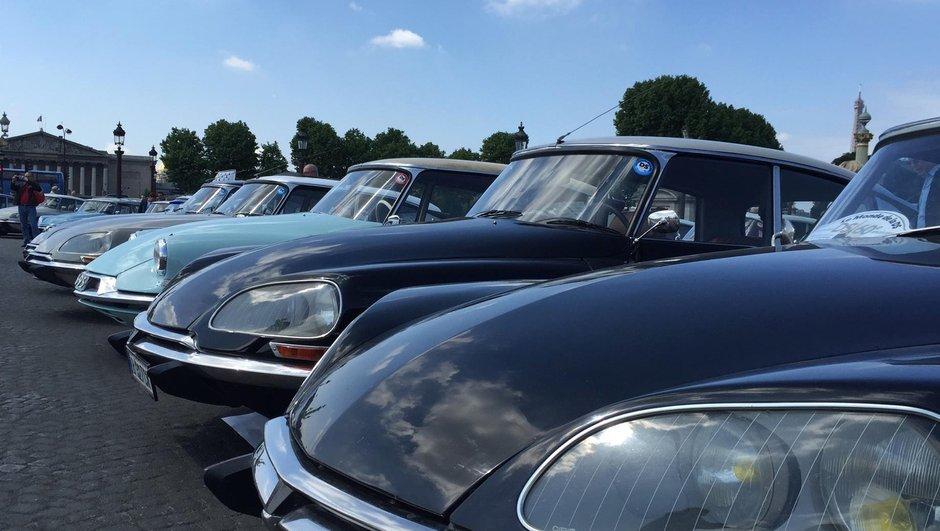 700 voitures pour fêter les 60 ans de DS