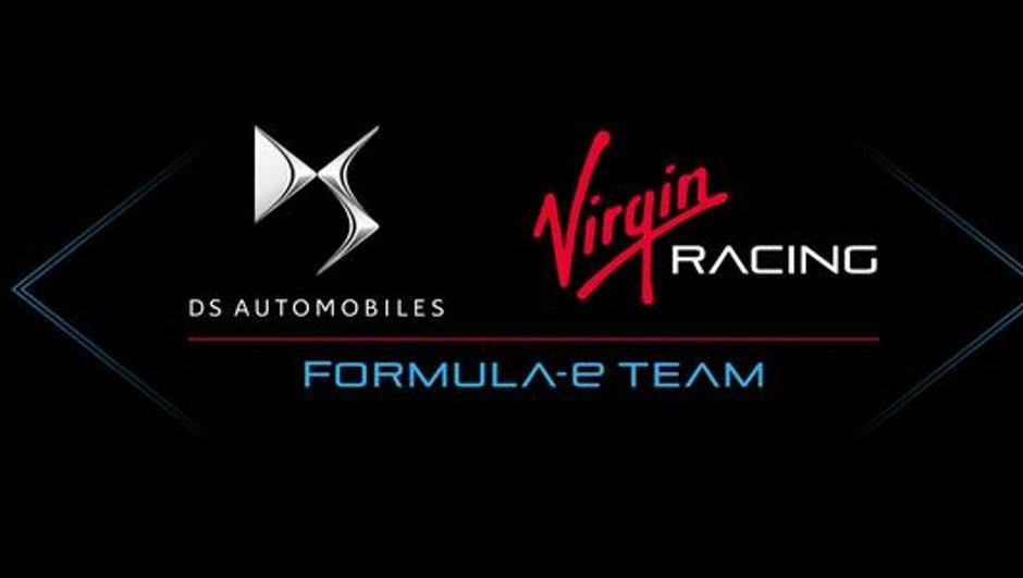 Formule E : DS s'associe à Virgin Racing pour la saison 2015/2016