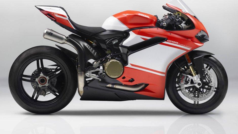 Ducati présente enfin son arme fatale, l'incroyable 1299 Superleggera