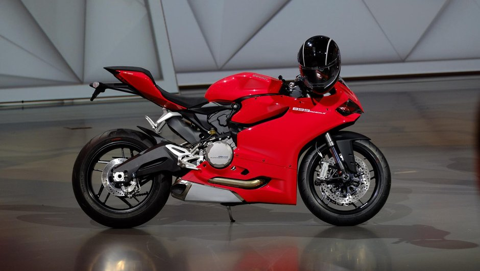 Salon de Francfort 2013 : la Ducati 899 Panigale s'impose