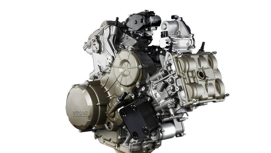 Ducati 1199 Panigale : le nouveau moteur Superquadro