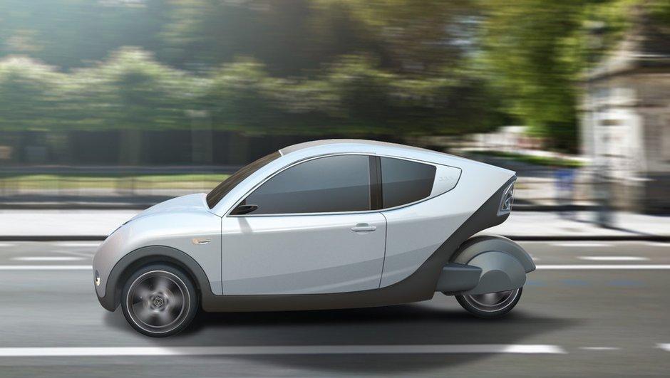 E-Car 333 : l'insolite voiture électrique venue de Belgique