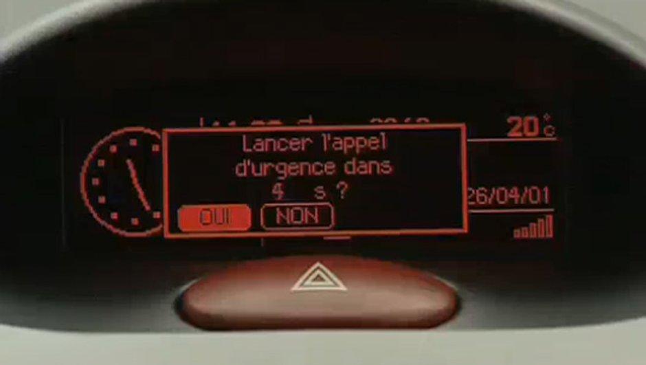 eCall : Votre voiture appelle les urgences en cas d'accident