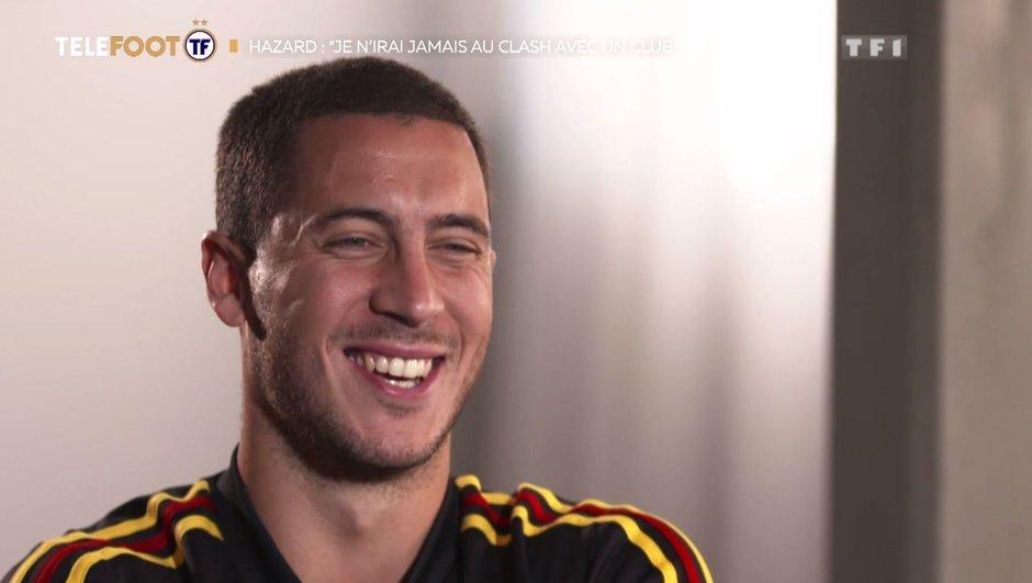 [EXCLU Téléfoot - 14/10] Chelsea – Real Madrid : la mise au point d'Eden Hazard