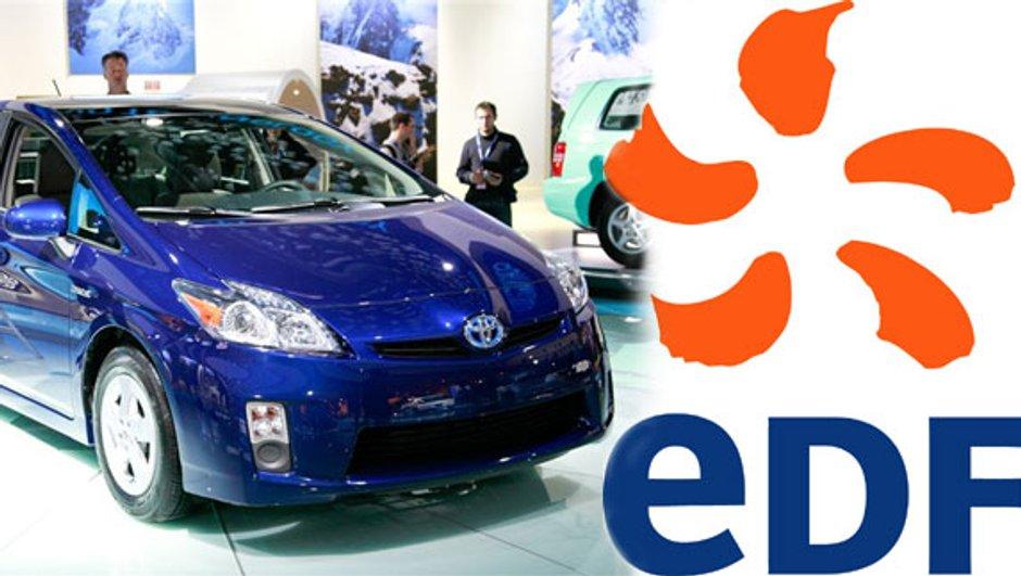 Toyota s'associe à EDF