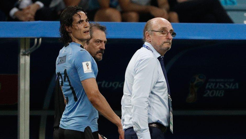 Uruguay-France : Cavani examiné ce lundi, verdict dans la journée ?