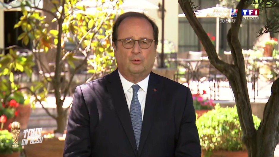 France-Australie : le soutien de François Hollande aux Bleus sur TF1